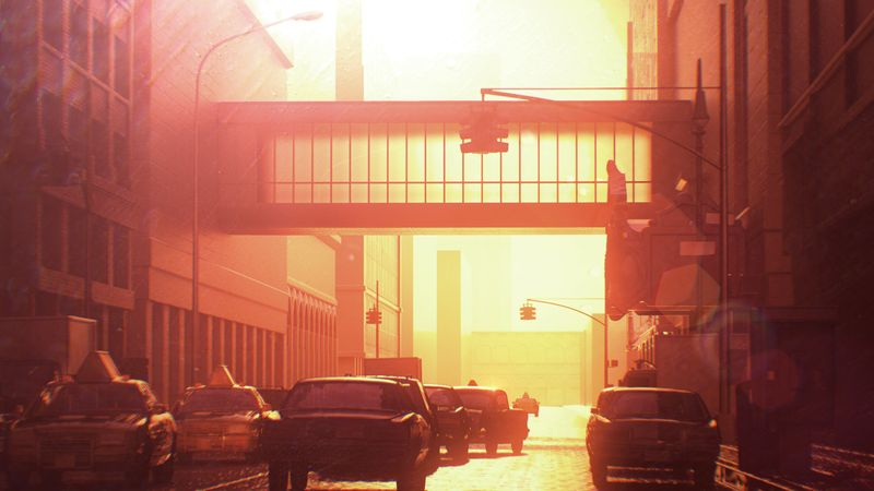 Sunset_traffic_camera